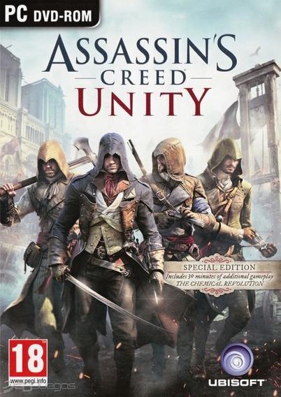 Assassins Creed Unity Gold Edition - Pc Mídia Digital