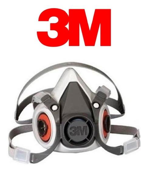 Respirador 3m Semi Facial Série 6200 Máscara