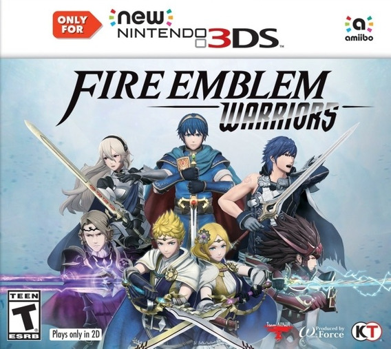 Fire Emblem Warriors - Semi Novo - Nintendo 3ds - Gamercado