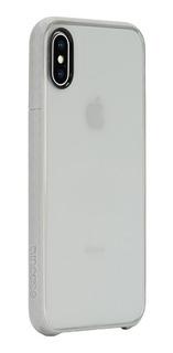 Incase Carcasa Funda Pop Case Para iPhone X Borde Silver