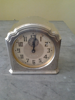 Reloj De Mesa. Westclox. Model 61c