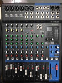 Mesa De Som Yamaha Analógica Mg-12xu