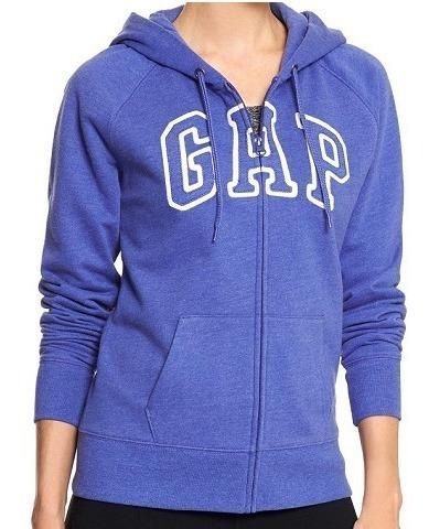 Blusa Frio Gap Feminino Ziper Pp Moletom Casaco Abercrombie