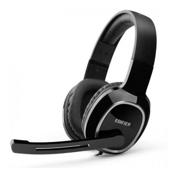 Fone De Ouvido Headset Gamer Para Pc K815 Preto Edifier