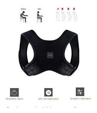 Imagen 1 de 6 de Corrector De Postura Para Hombres Y Mujeres - Espalda Superi