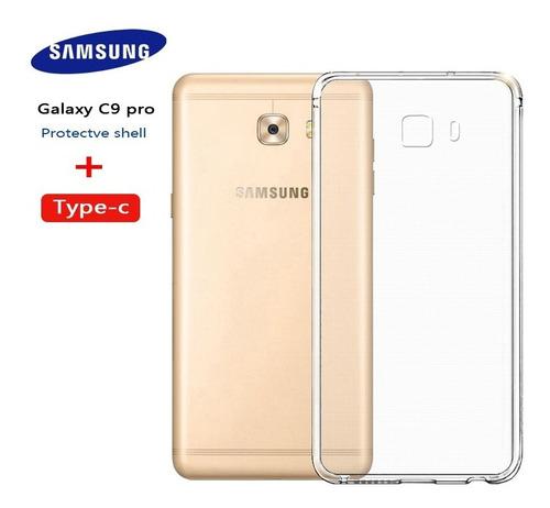 Imagem 1 de 6 de Capa Protetora Cover Original Samsung Galaxy C9 Pro