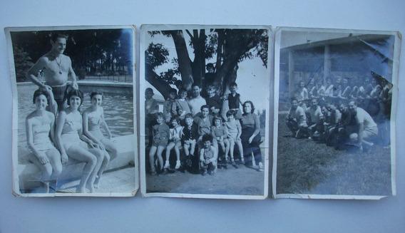 Lote De Antiguas Fotografías Instituto Kinderland - Años