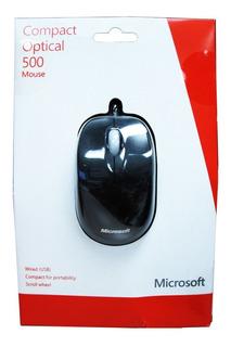 Mouse Microsoft 500 Optico Compacto U81-00009