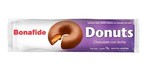 Galletitas Donuts Bonafide Chocolate Con Leche - Rosquillas