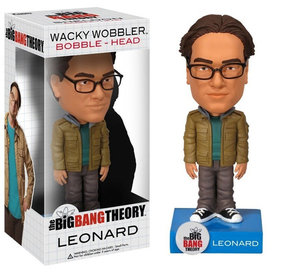 Leonard Big Bang Theory W Wobbler Bobble Head Bonellihq L18