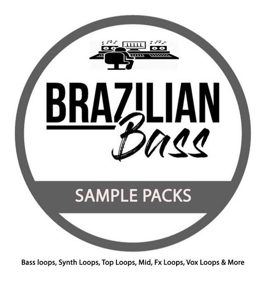 Brazillian Bass - Sample Packs (4 Super Packs) 2019 Barato