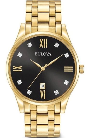 Relógio Bulova Masculino Diamond 97d108