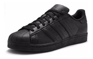 adidas Superstar Original Fundation Negro/negro Envió Gratis