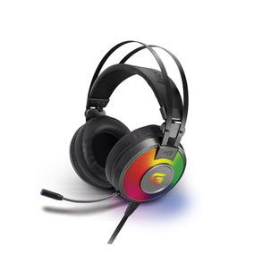 Headset Gamer Rgb G Pro H3+ Plus 7.1 Usb Cinza Fortrek