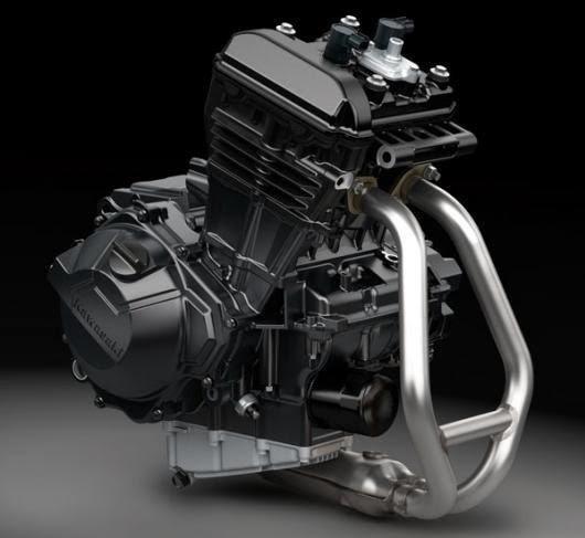 Kawasaki Ninja300 Peças Motor