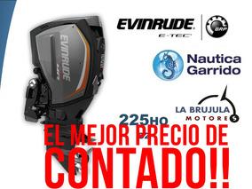 Motor Evinrude Etec G2 225ho. Consultar Precio De Contado.