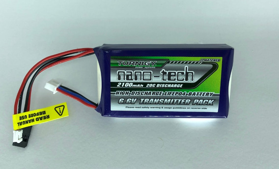 Bateria Turnigy Life 2100mah 6.6v 2s Para Radio E Receptor