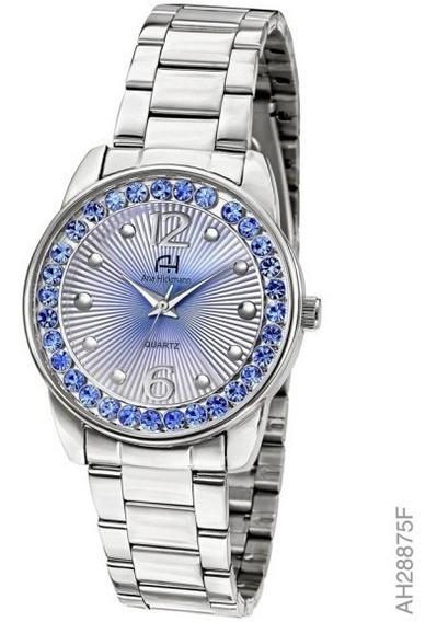 Relógio Feminino Ana Hickmann Ah28875f Prata - Loja Oficial