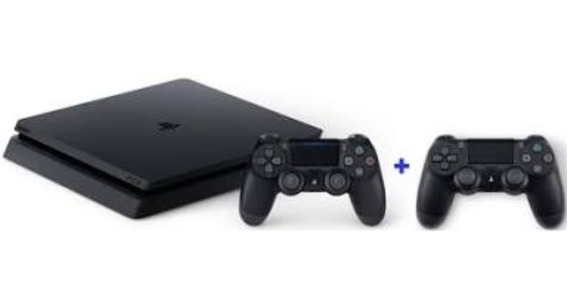 Ps4 Slim 1 T + Headset + Console Drive + 10 Jogos