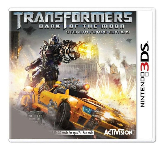 Transformers Dark Of The Moon - 3ds - Europeu