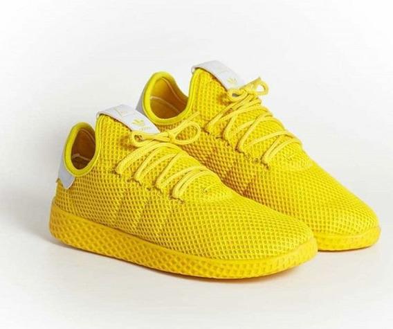 Tênis adidas Hu Amarelo