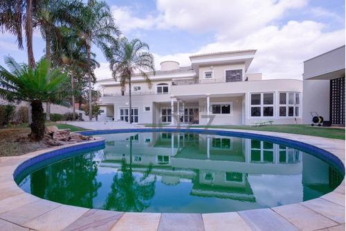 Casa Com 5 Dormitórios À Venda, 854 M² Por R$ 4.690.000,00 - Alphaville - Campinas/sp - Ca1811