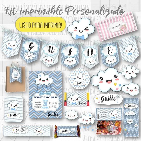 Kit Imprimible Lluvia De Amor Personalizado Mod.03