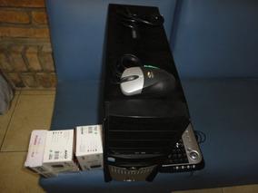 Computador E Cameras Para Monitoramento E Gravação