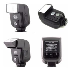Flash Universal Canon Nikon Sapata Cy-20 500d 600d 700d 2.5m