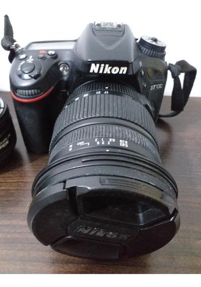 Câmera Nikon D7100 Kit Profissional