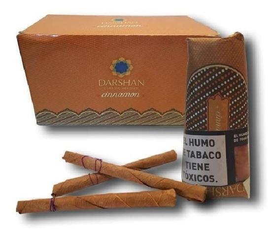 India Cigarritos Darshan Beedies Bidi Cigarros Canela X20