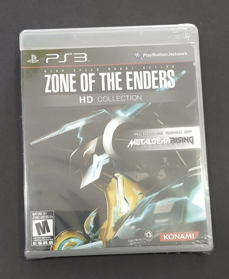 Zone Of The Enders Hd Collection Lacrado Playstation 3 Sony