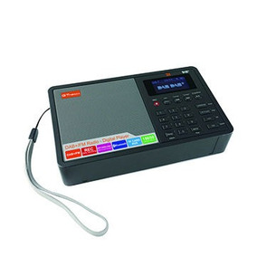 Rádio Portátil Gtmedia D1 Bluetooth Fm Stéreo Despertador