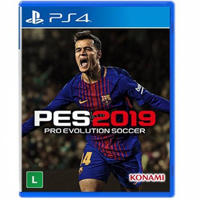 Jogo Pro Evolution Soccer 2019 Pes 19 Playstation 4 Ps4