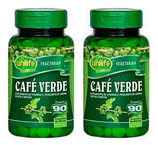 Café Verde - 2x 90 Comprimidos - Unilife