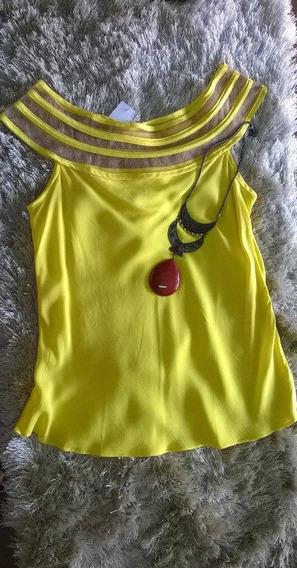 Blusa Com Tule - Kit 4 Blusas.