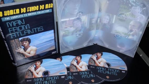 Dvd Homem Do Fundo Do Mar- Serie Completa + 4 Filmes Longa