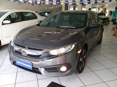 Honda Civic 2.0 16v Flexone Exl 4p Cvt