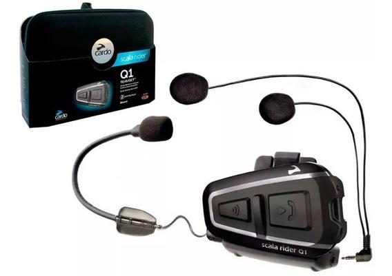 Intercomunicador Cardo Scala Rider Q1, Auricular, Bluetooth