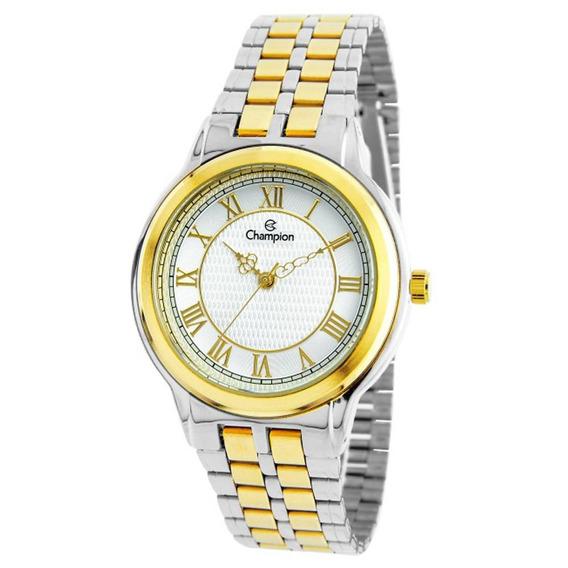 Relógio Champion Feminino Ch22957s Bicolor