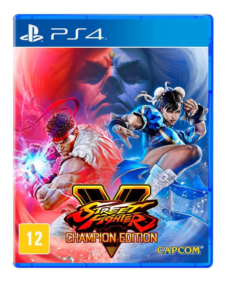 Street Fighter 5 Champion Ps4 Midia Fisica Novo