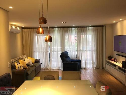 Lindo Apartamento -  Com Sacada  Gourmet - Sala Ampliada  - St18995