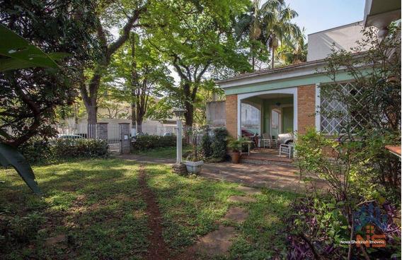Casa Residencial À Venda, Jardim Paulista, São Paulo - Ca3303. - Ca3303