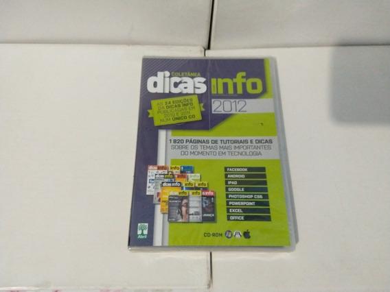 Dvd - Coletânea - Dicas Info 2012 ( Exame