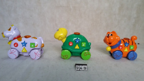 Lote De 3 Brinquedos Musicais N\ Fisher Price @949