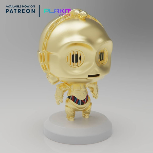 C-3po Star Wars Coleccionable Estilo Funko Pop