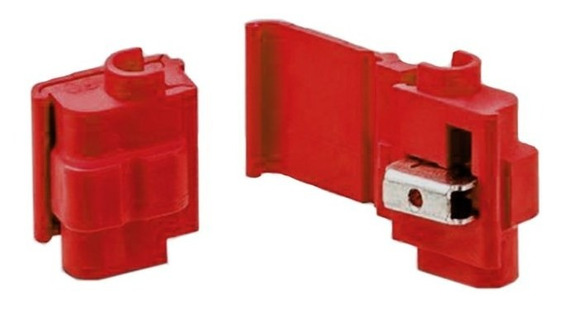 Conector Emenda E Derivação 558 Vermelho 10 Peças 3m