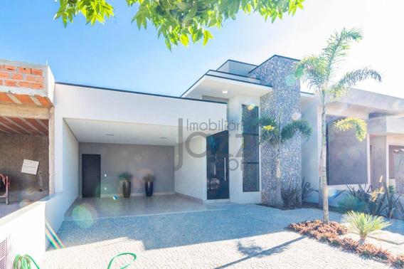 Espetacular Casa Térrea No Condomínio Campos Do Conde 2, Em Paulínia.. - Ca3881
