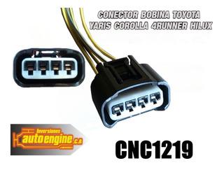 Conector Bobina Toyota Yaris Corolla 4runner Hilux Cnc1219
