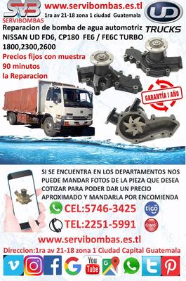 Servibombas Bombas De Agua Nissan Ud Fd6 1800,2300,2600